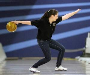 Amy Caruso of South Brunswick during the GMC Individual Finals. Photo by: Mark R. Sullivan