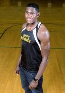 Jonathan Pitt, The Home News Tribune's Boys Indoor Track Athlete of the Year. Photo by: Mark R. Sullivan