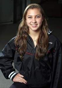 Bridgewater-Raritan's Emily Shugan is the Courier News Gymnast of the Year. Photo by: Kathy Johnson
