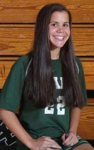 East Brunswick's Sydney Rosa, the 2013 Player of the Year. Photo by: Mark R. Sullivan