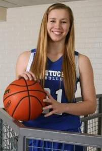 Cassie Smith of Metuchen has been named Home News Tribune All Area Girls Basketball Player of the Year. Photo by: Mark R. Sullivan