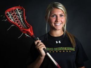 North Hunterdon's Julia Wood, the 2014 Courier News Player of the Year. Photo by: Jason Towlen