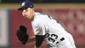 Adam Conley has ranked among the PCL leaders in wins and ERA en route to making his big league debut. Photo by: Parker Waters / New Orleans Zephyrs