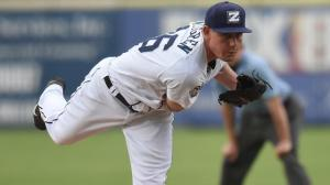 Nick Wittgren has converted 10 of 11 save opportunities since joining the Zephyrs in mid-April. Photo by: Parker Waters / New Orleans Zephyrs
